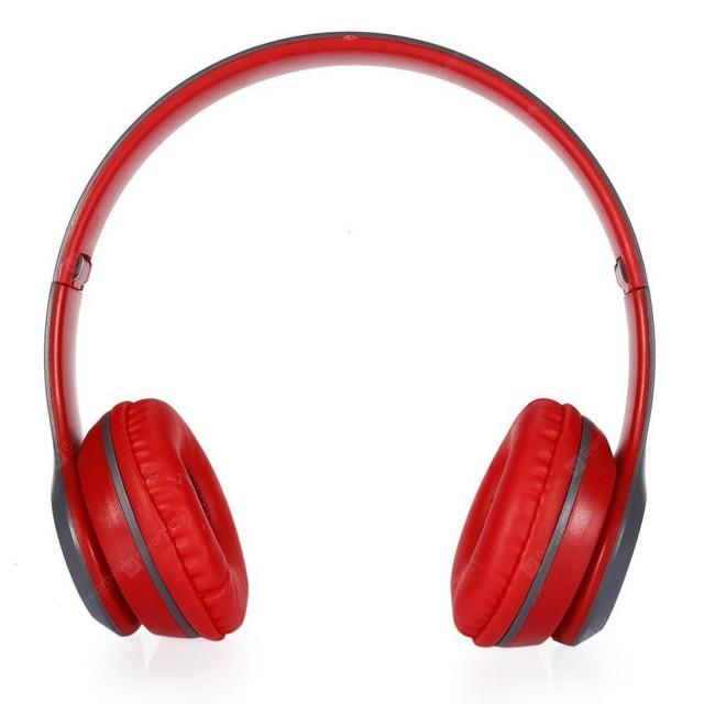 P47 | Red | კარგი ჟღერადობის უსადენო ყურსასმენი