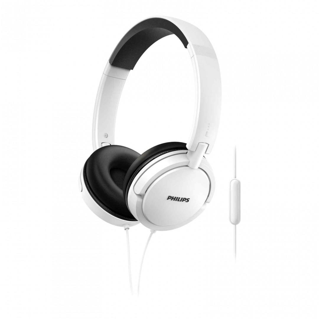 Philips Earphones SHL5005 Mic White