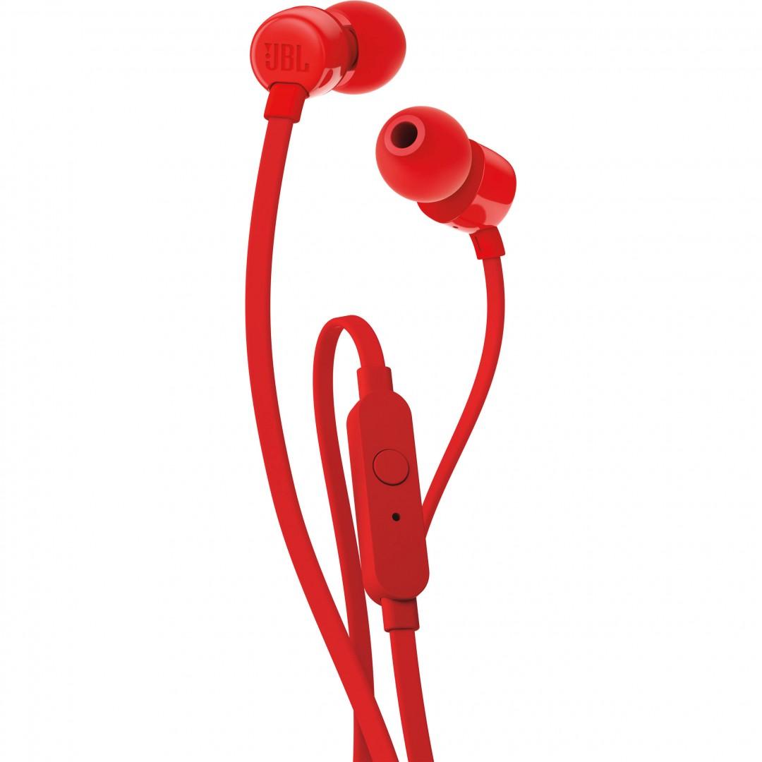 Wired Headphone/ JBL/ JBL T110 RED