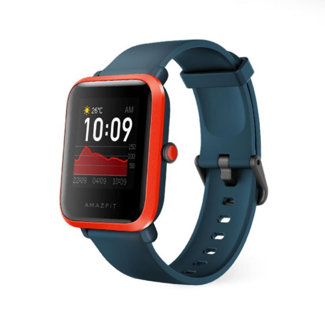 Smart Watch/ Amazfit Bip S Red Orange (6972596100034)