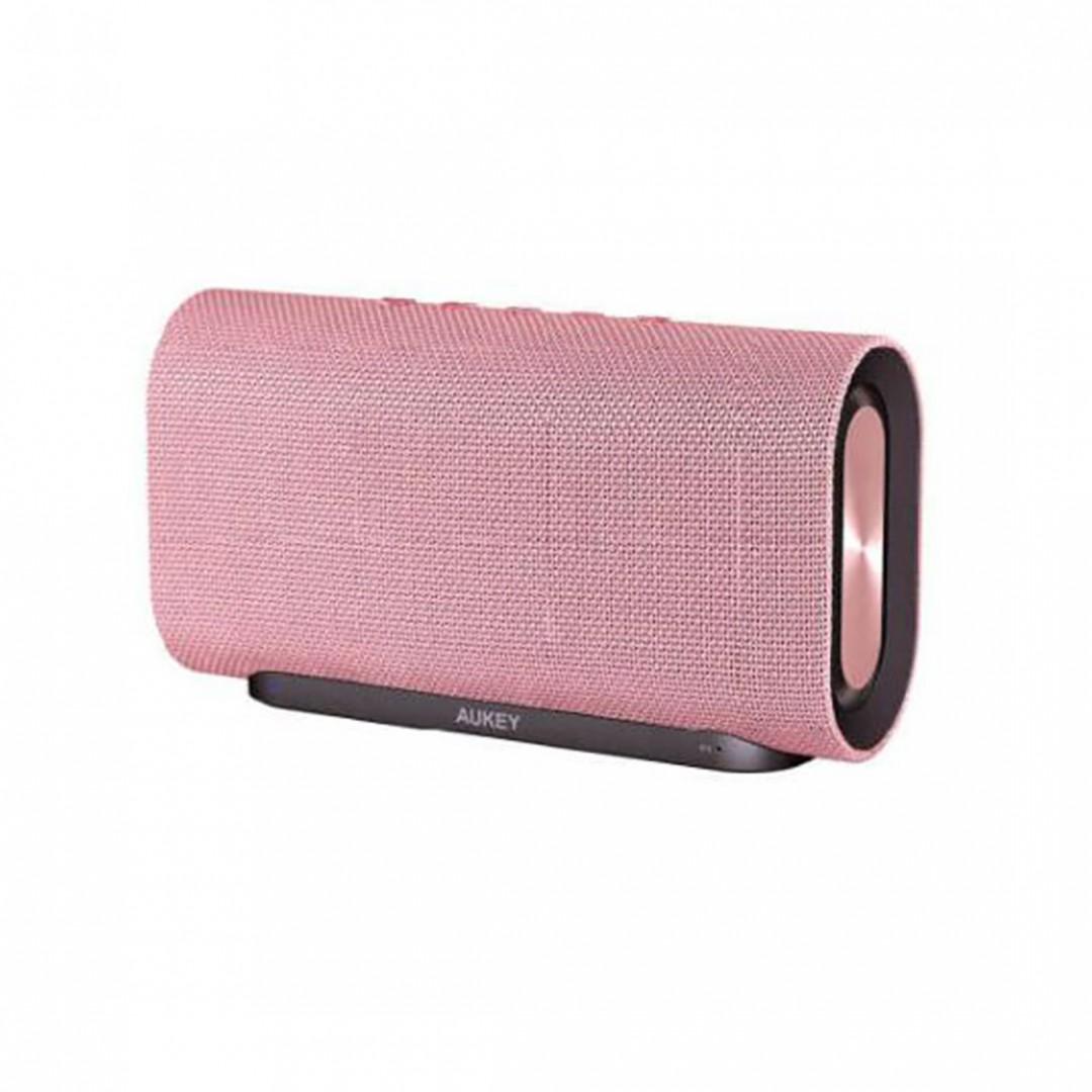 Wireless Speaker/ AUKEY PINK Eclipse Bluetooth Speaker