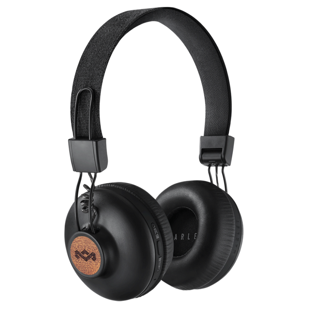Wireless Headphone/ House of Marley/ House of Marley EM-JH133-SB Positive Vibration BT Signature Black
