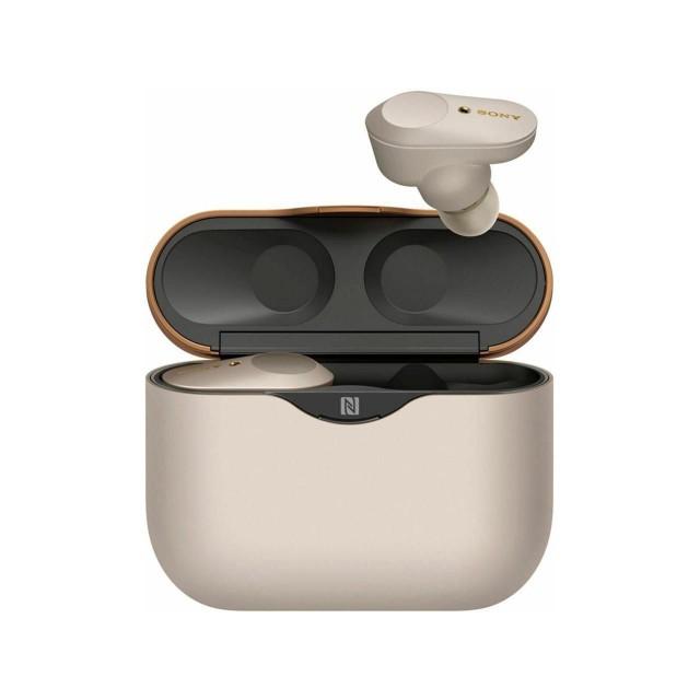 Wireless Headphone/ Sony/ Sony Wireless WF-1000XM3  In-Ear NOISE CANCELLING Earphones, Silver