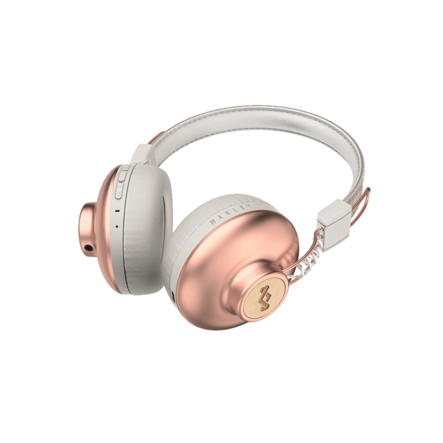 Wireless Headphone/ House of Marley/ House of Marley EM-JH133-CP Positive Vibration BT Copper