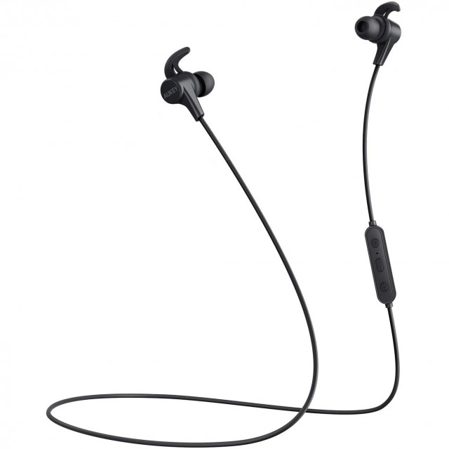 Wireless Headphone/ Aukey/ AUKEY Magnetic Wireless Earbuds. (Black) EP-B62