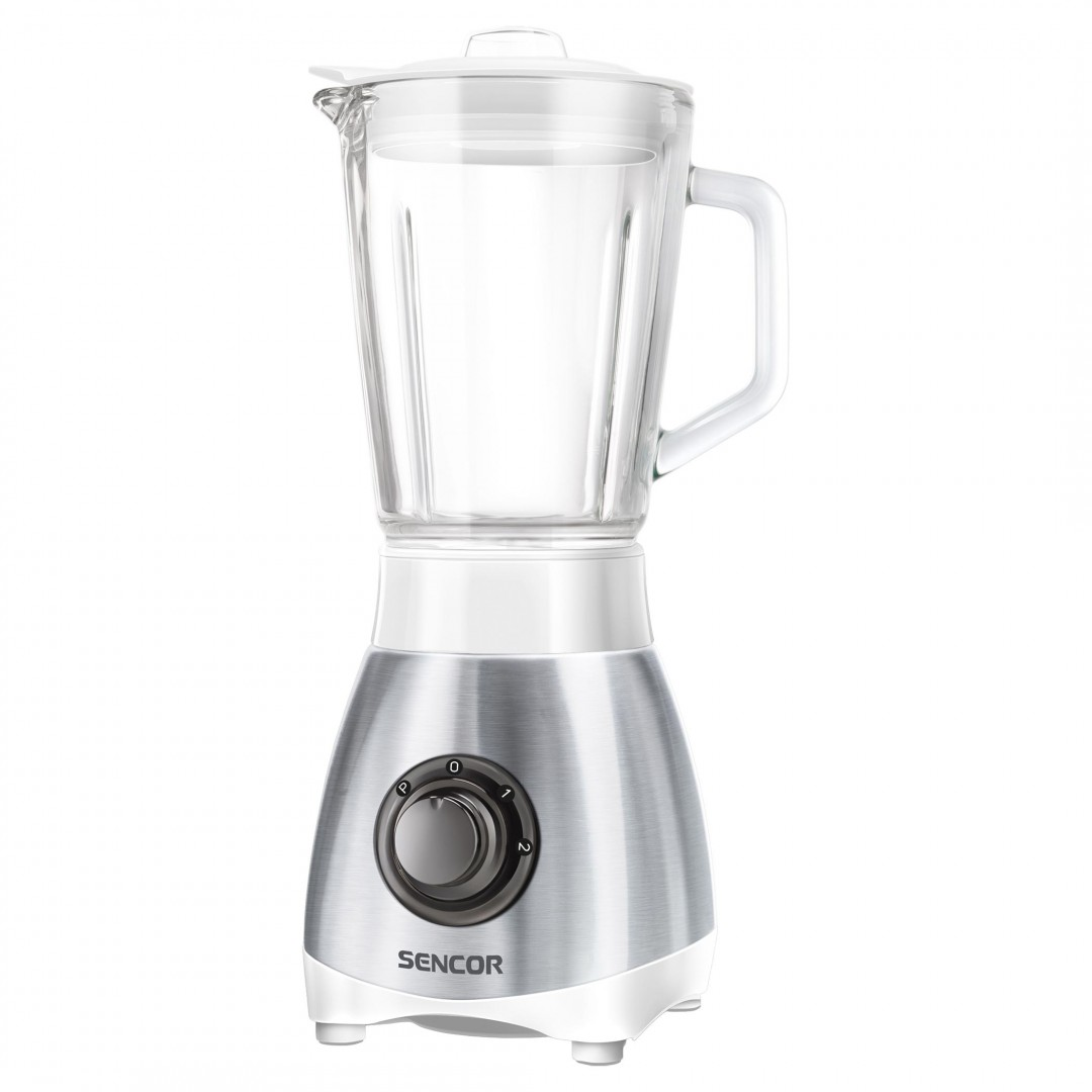 Blender/ Sencor SBL 3271SS Glass Jug Blender, 0.8 l capacity,  Power input: 250W, Jug is made from very high quality heat resistant glass