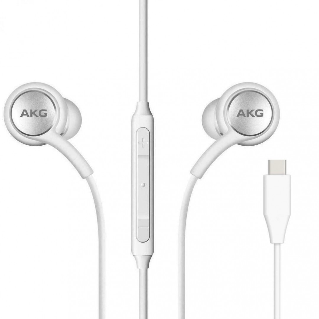 Wired Headphone/ Samsung/ Samsung  AKG  IC100 Type-C Earphones White