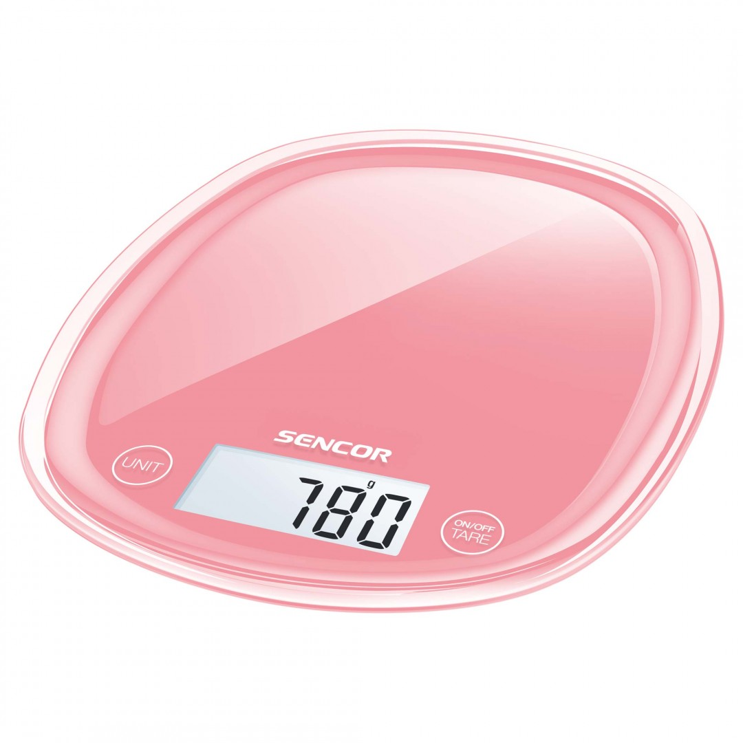 Scale/ Sencor SKS 34RD Kitchen Scale 5Kg, 1gr, Red