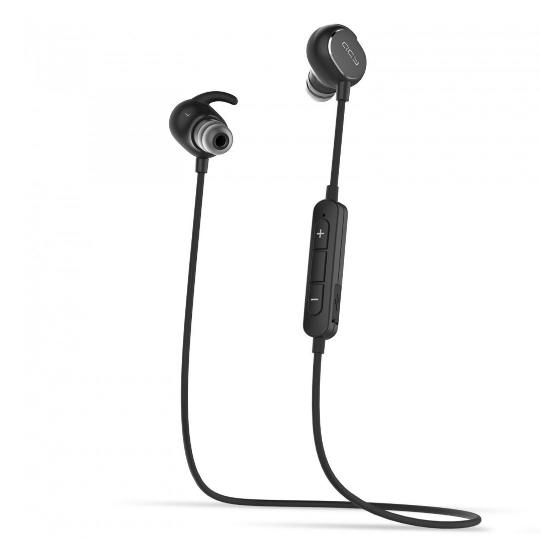 Wireless Headset/ QCY-QY19 Sport BT Earphones-Black