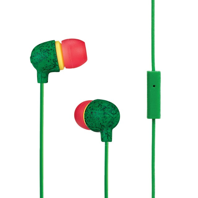 Wired Headphone/ House of Marley/ House of Marley EM-JE061-RA  Little Bird In-Ear Headphones  RASTA
