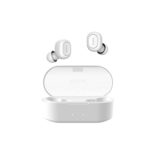 Wireless Headset/ QCY T1S | Wireless  Bluetooth Earphone White