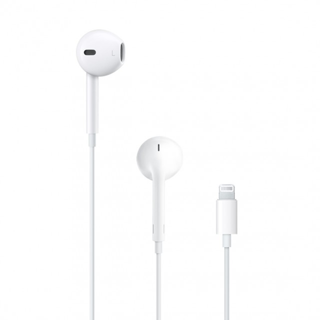 Wired Headphone/ Apple/ APPLE EarPods with Lightning Connector, Model A1748 (MMTN2ZM/A)