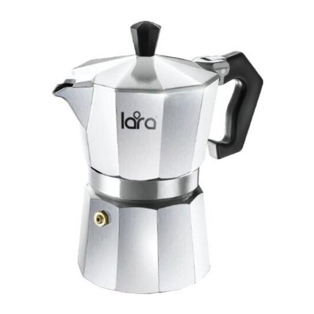 LARA  ჰეიზერული ყავის მადუღარა LR06-72