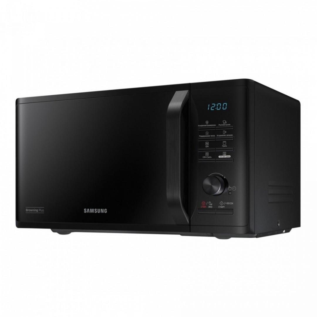 Microwave/ Samsung MG23K3515AK/BW, Microwave, BioCeramic, Grill, 23lt,1250watt, Black
