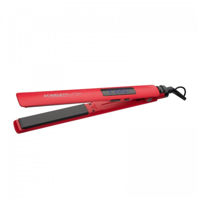 Hair crimper red Power 50w Temperature control 150230 C Work surface material Ceramic coating Plate diameter 120mm