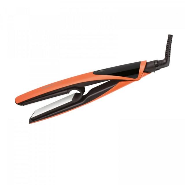 Hair crimper orange pastel