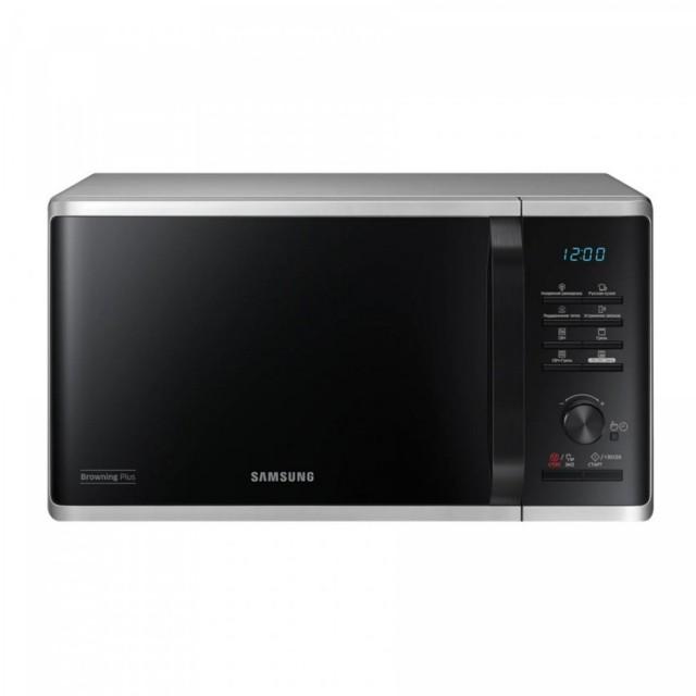 Microwave/ Samsung MG23K3515AS/BW, Microwave, BioCeramic, Grill, 23lt,1250watt, Silver