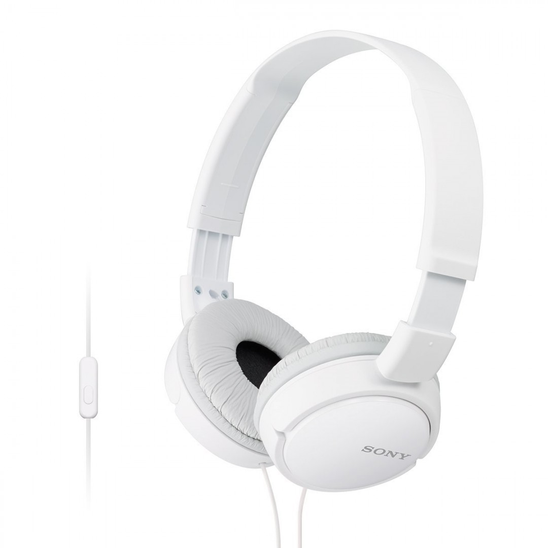 Wired Headphone/ Sony/ Sony/ MDR-ZX110AP In-Ear Headphones With Remote White