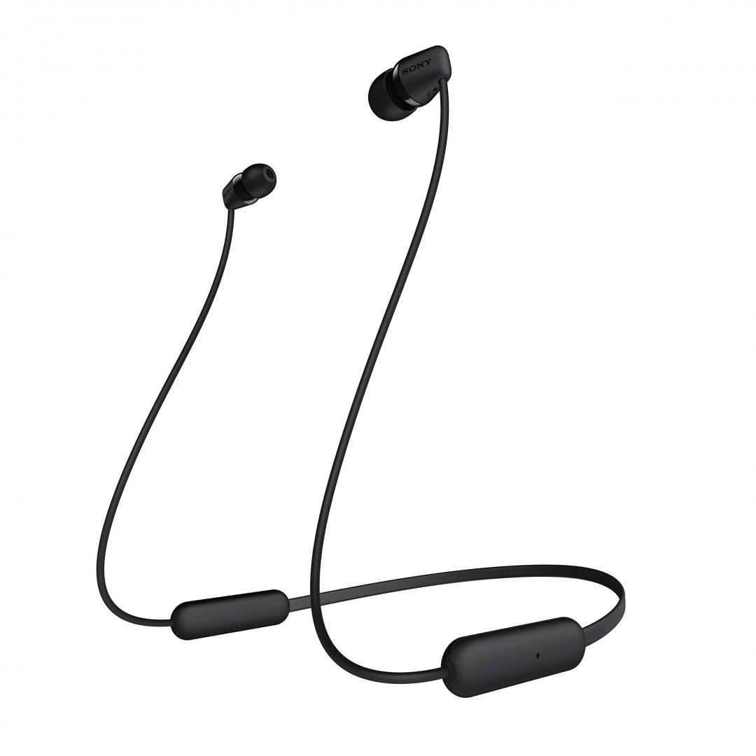 Wireless Headphone/ Sony/ Sony WI-C200 WIRELESS IN-EAR HEADPHONES White