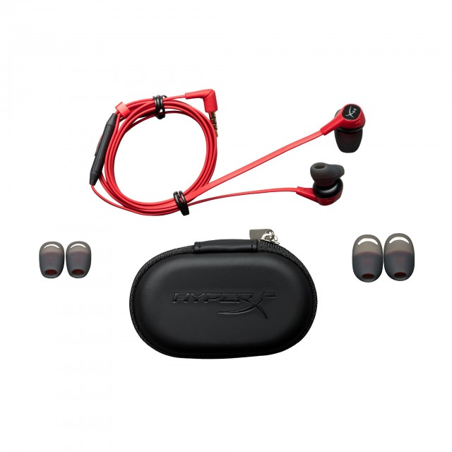Headphone/ Kingston/ HyperX Cloud EARBUDS   HX-HSCEB-RD