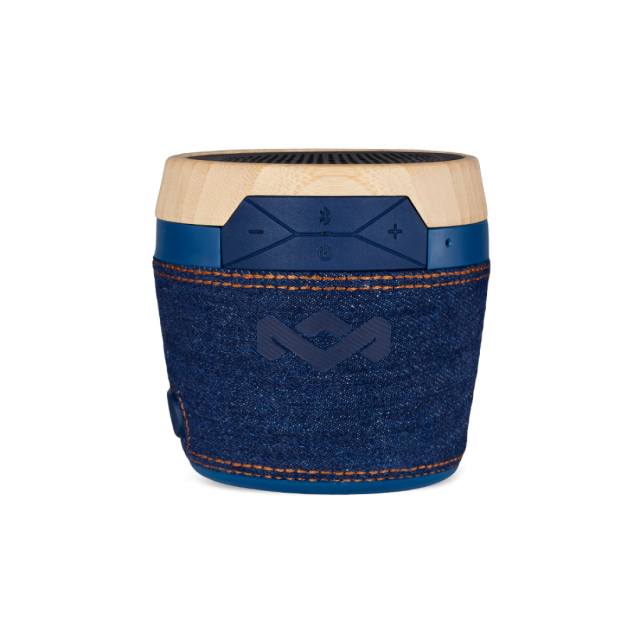 Wireless Speaker/ House of Marley/ House of Marley EM-JA007-DN Chant Mini BT Portable Wireless Bluetooth Speaker,DENIM