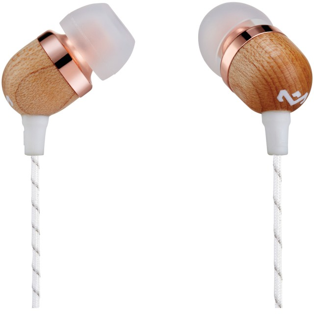 Wired Headphone/ House of Marley/ House of Marley EM-JE041-CP  Smile Jamaica In-Ear Headphones With Remote And Microphone (COPPER)
