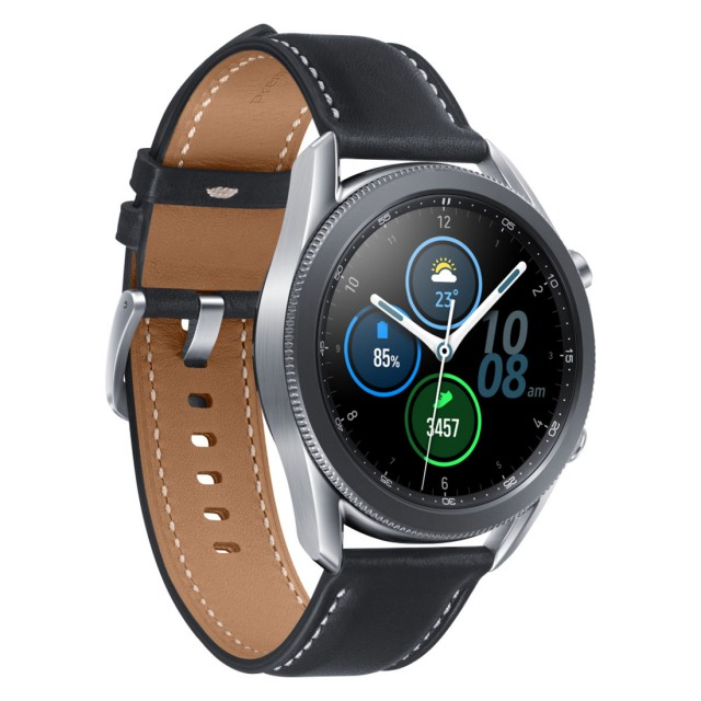 Smart Watch/ Samsung Galaxy Watch 3 45мм Silver (SM-R840NZSACIS)