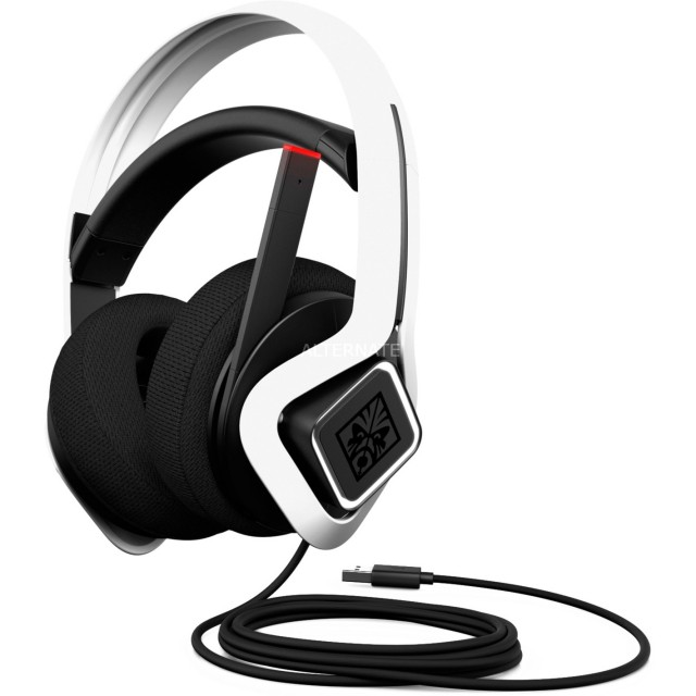 Headphone/ HP/ OMEN by HP Mindframe Prime Headset with FrostCap Ear Cooling (White)