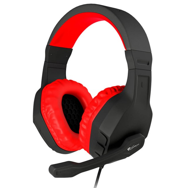 Headphone/ Genesis/ Genesis  Gaming Headest Argon 100 Red Windows XP, Vista, 7, 8, 10 3.5 mm stereo mini-jack Microphone Volume Control
