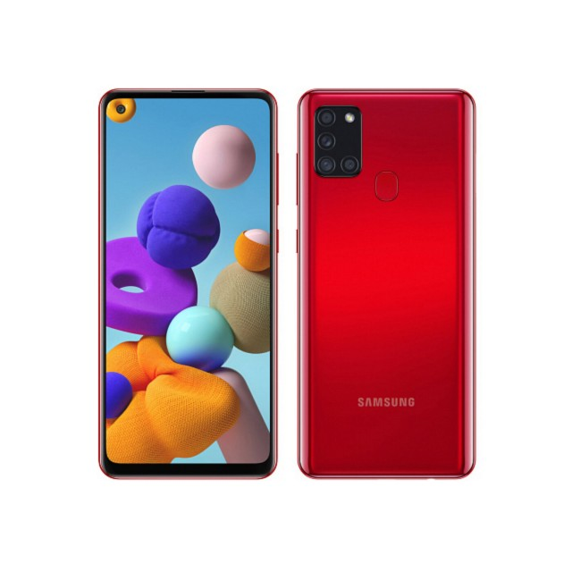 Mobile and Smartphones/ Samsung/ Samsung A217F Galaxy A21s 3GB/32GB LTE Duos Red