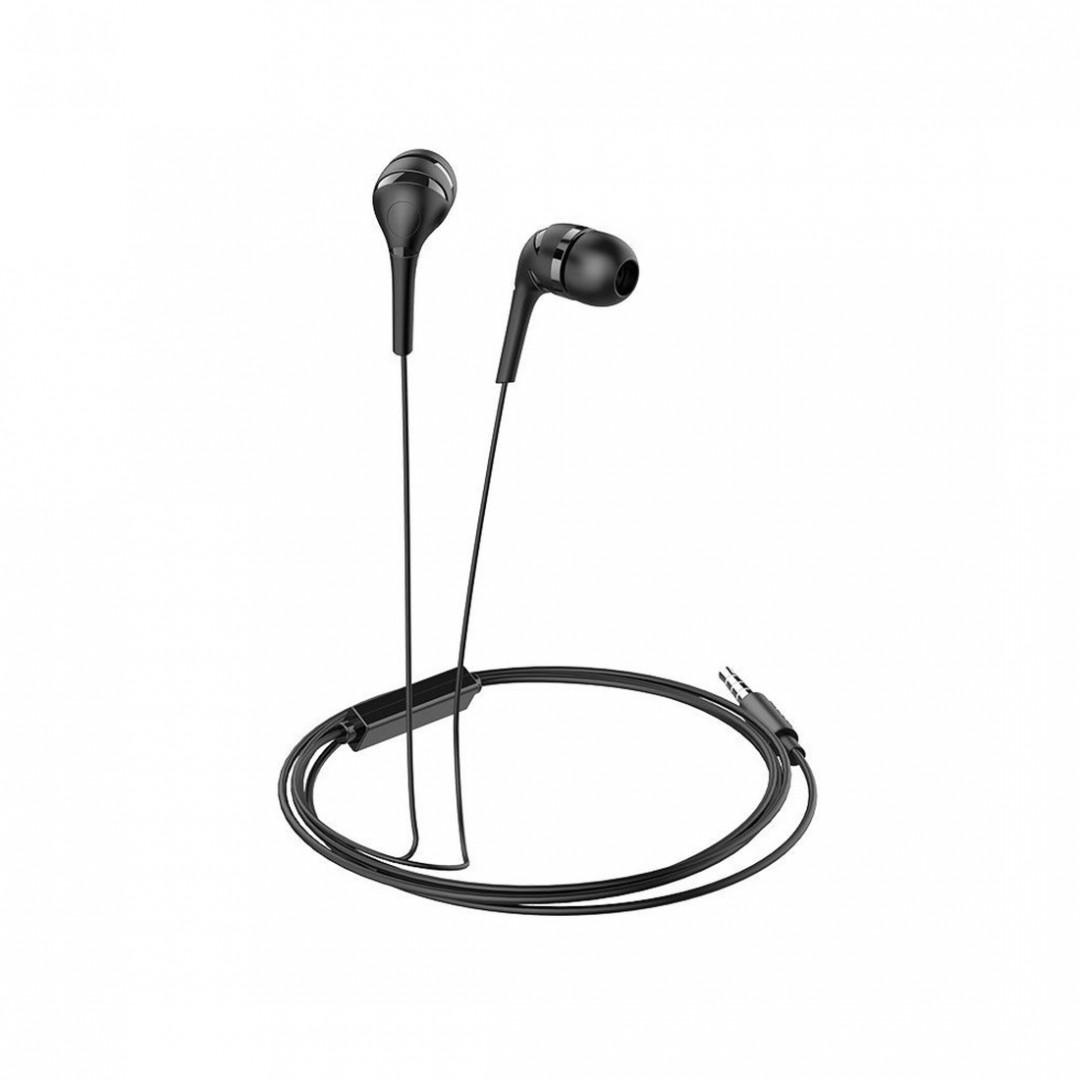 Hoco M34 | Black | მაღალი ხარისხის ყურსასმენი
