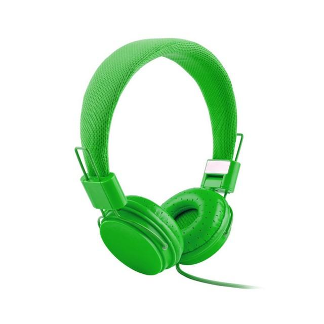 EP05 Earphones | Green | ფერადი სადენიანი ყურსასმენი