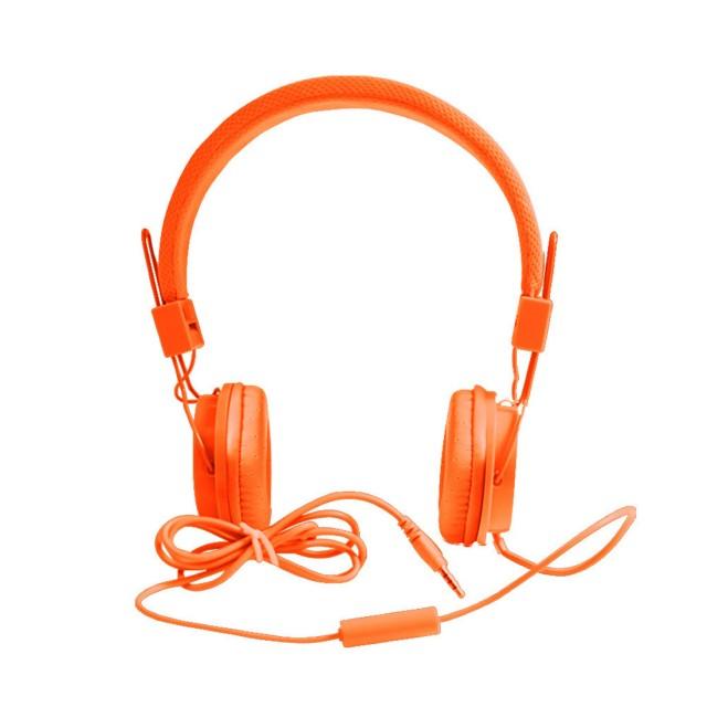 EP05 Earphones | Orange | ფერადი სადენიანი ყურსასმენი