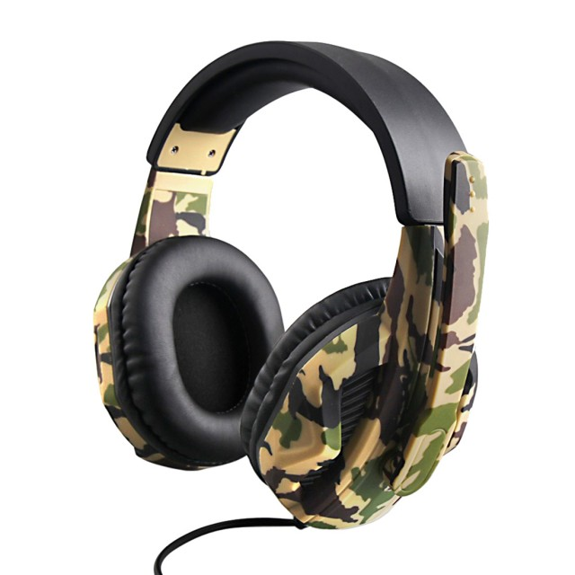 Gaming wired control headphone SEZ-881 camouflage