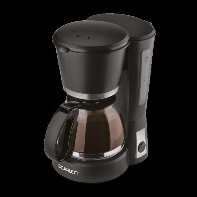 Coffee maker black Type Drip Power 600w Volume cups 46 Filter